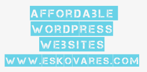 affordable wordpress website by Esko Vares